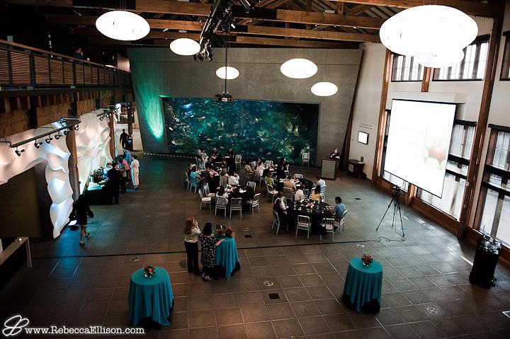 Seattle Aquarium Reception room