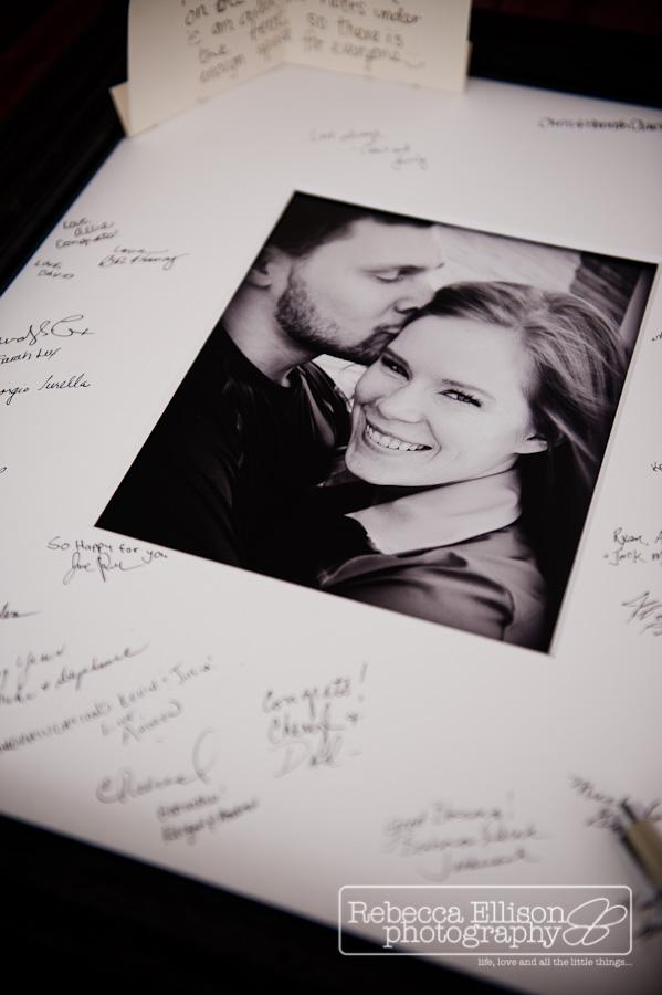 engagement photo uses at  wedding