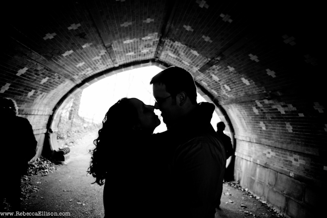 Engagement portrait intimacy is important to show your affection for your partner photographed by Rebecca Ellison Photography