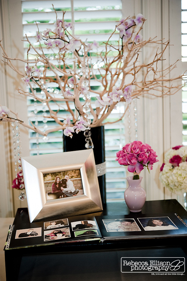 wedding guest book table inspiration