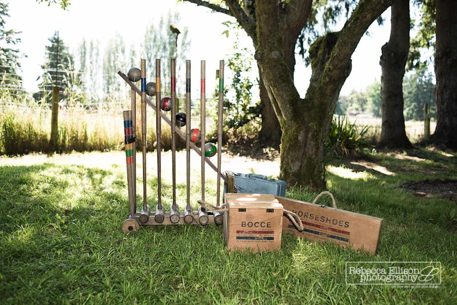 lawn games for wedding reception ideas