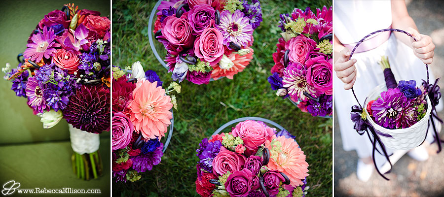 bridal flowers detail