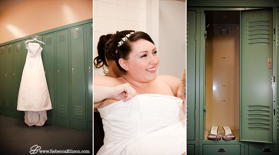 bride getting ready & details