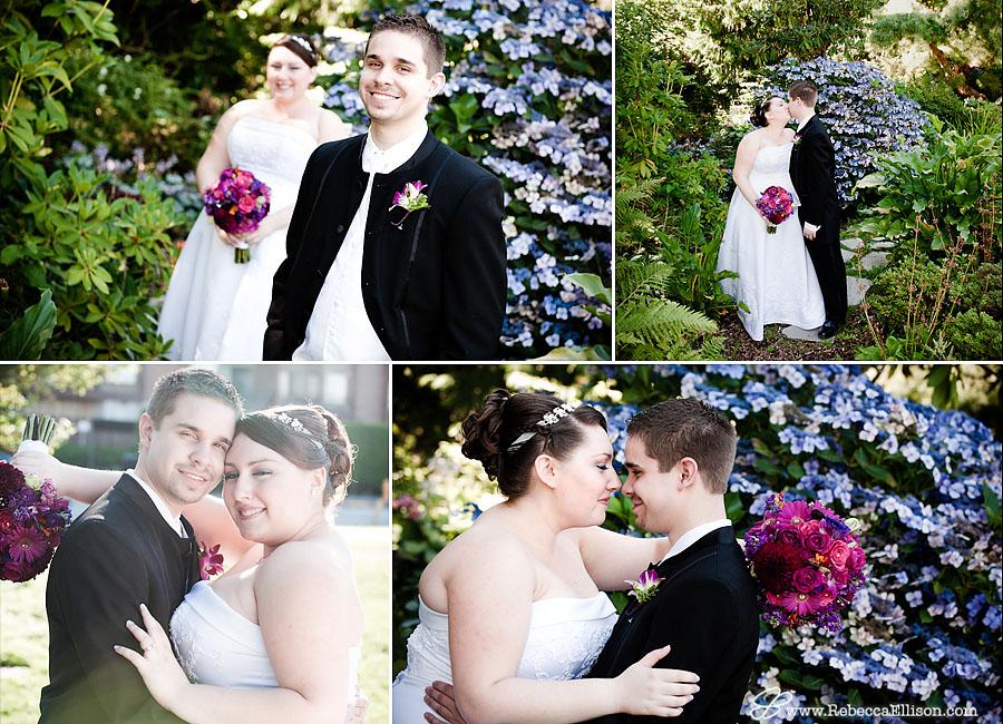 bride & groom portrait photos