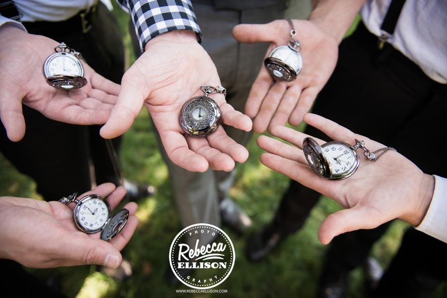 chess-inspired-wedding-015 groomsmen gift pocket watches