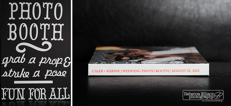 the wedding photo booth book of the best images from your photo booth