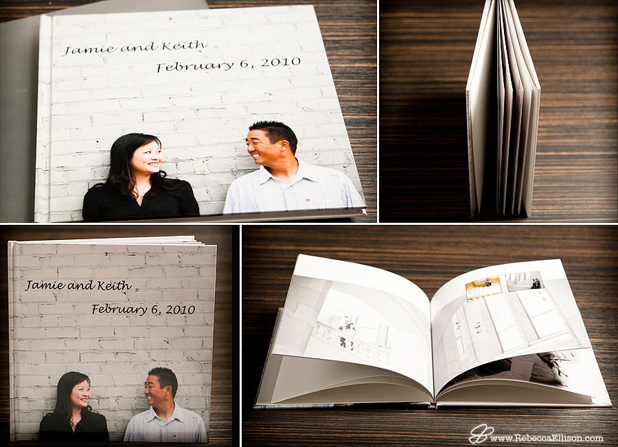 Rebecca Ellison Photography - Custom Guest Book
