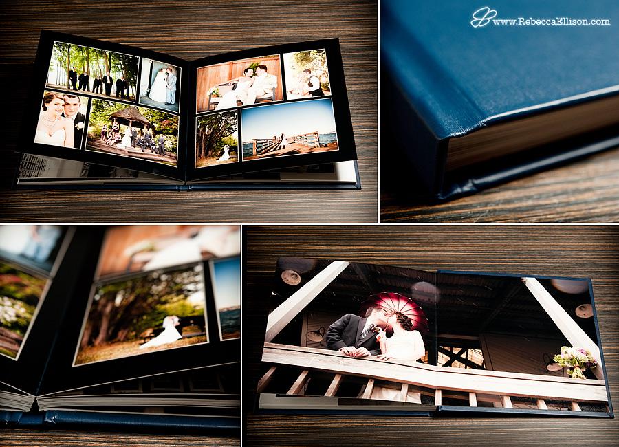 Rebecca Ellison Photography - Deluxe Wedding Album