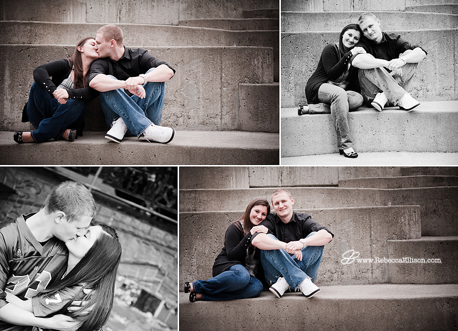 fun engagement photos in the Fremont neighborhood of Seattle