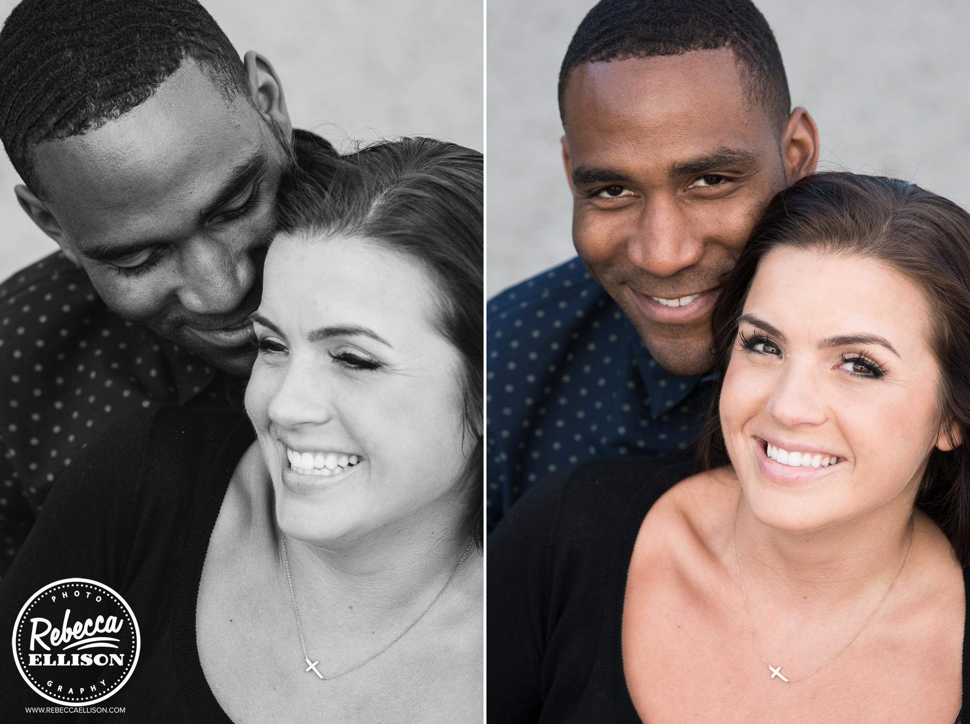 Engagement portrait photographed by Seattle Wedding Photographer Rebecca Ellison