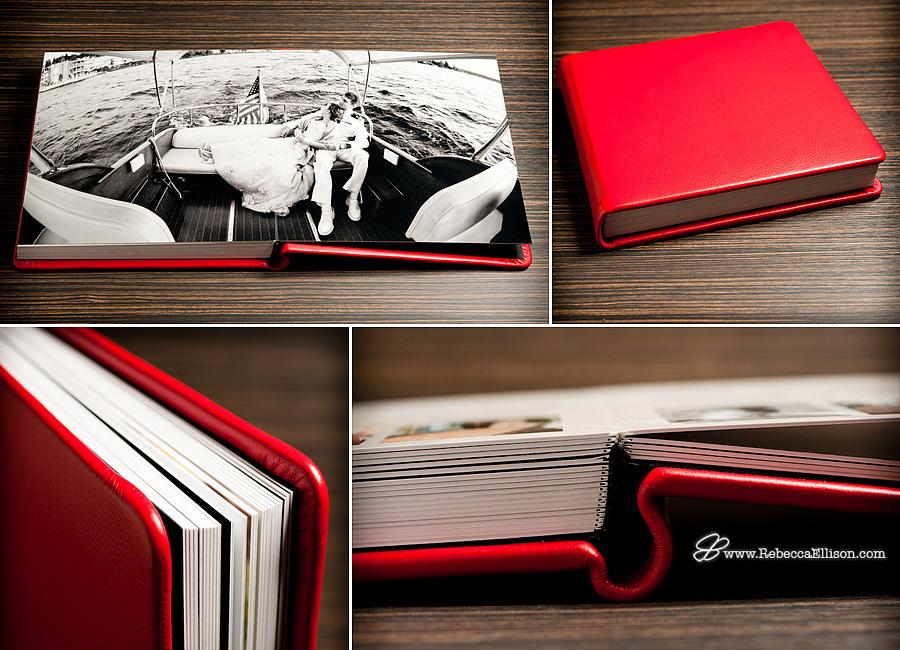 Rebecca Ellison Photography - Luxury Wedding Album