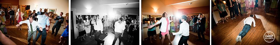 dancing at  farm kitchen wedding in poulsbo photographed by Seattle wedding photographer Rebecca Ellison