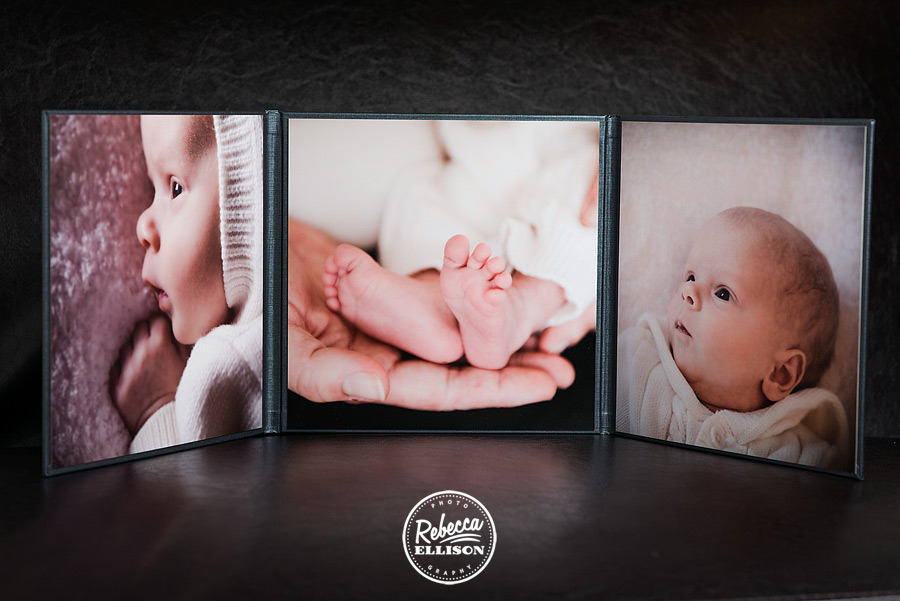 Trifold photo display, a new product from Rebecca Ellison photography