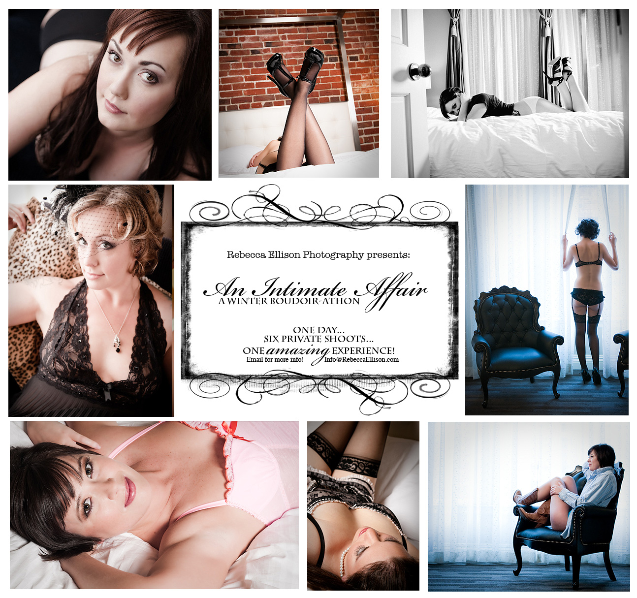 a boudoir event in Seattle