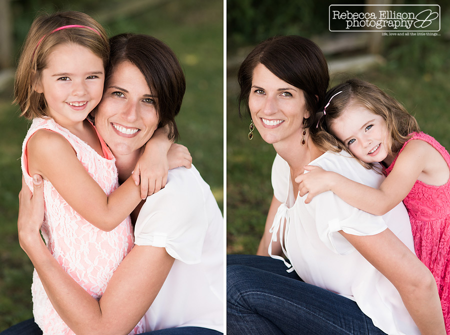 mom and daughter photos during greenlake family portraits session