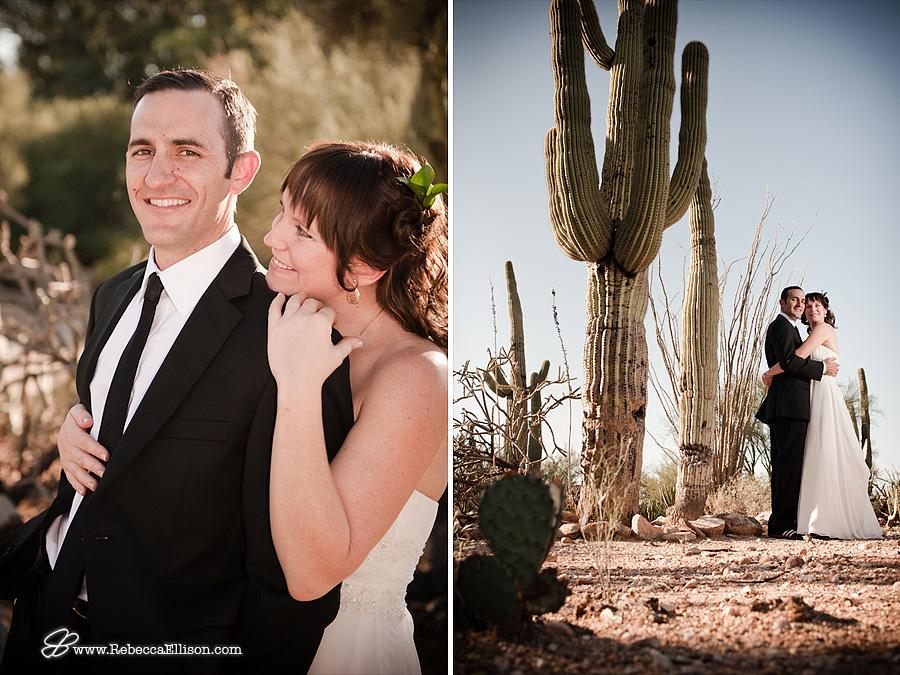desert wedding in Tucson, Arizona by Rebecca Ellison Photography
