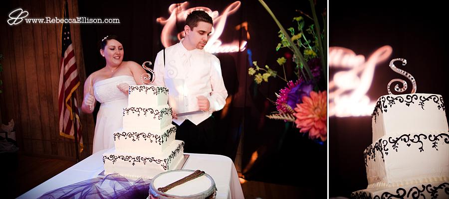 wedding cake & details