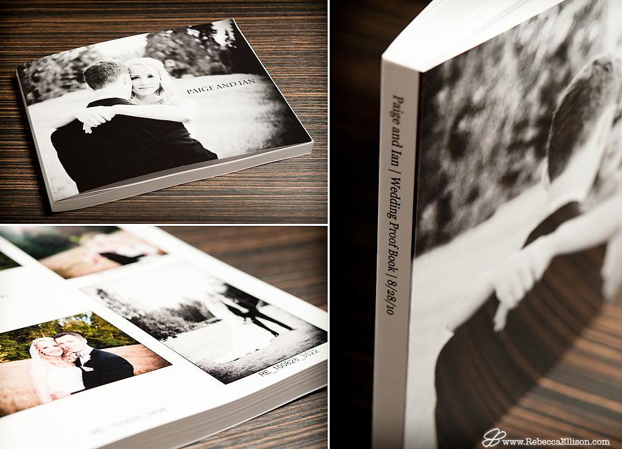 Rebecca Ellison Photography - Wedding Proof Book