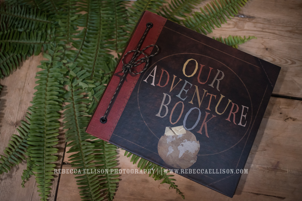 Adventure Book from UP for wedding guest book