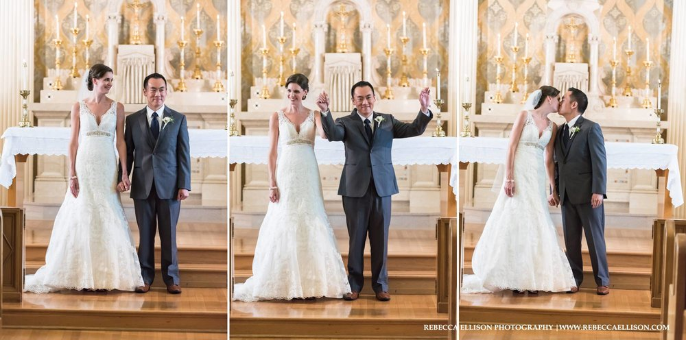 holy names academy wedding ceremony