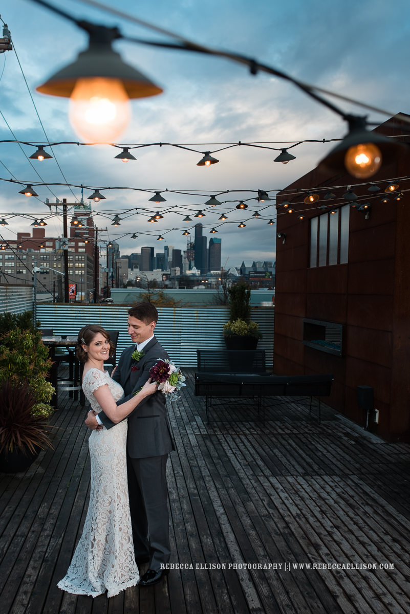 Seattle wedding photographer review of Rebecca Ellison Photography