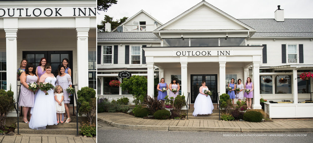 Destination wedding at Outlook in on Orcas Island. Focusing on relaxed, natural and distinct photos of your wedding day. Rebecca Ellison Photography. Seattle Based.
