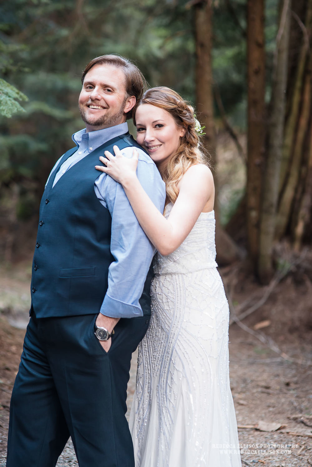 franklin falls mountain elopement