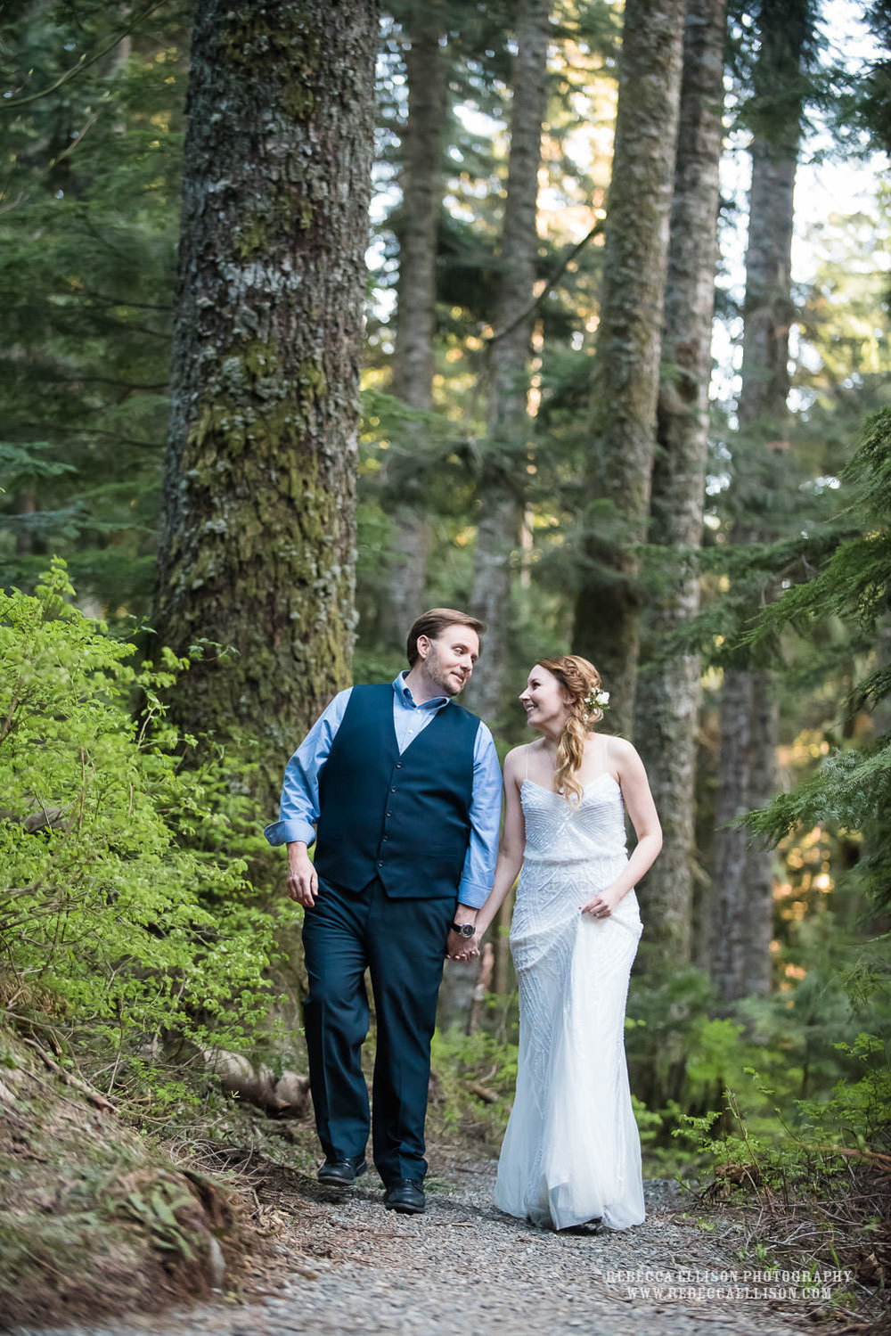 Mountain elopement in the shadow of Mount Si and Franklin Falls