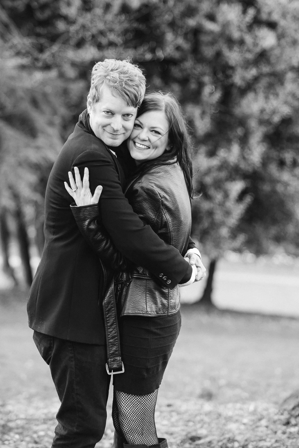 Volunteer Park engagement session