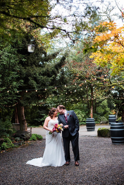 Fall JM Cellars Winery Wedding Laura and Daniel Wedding and