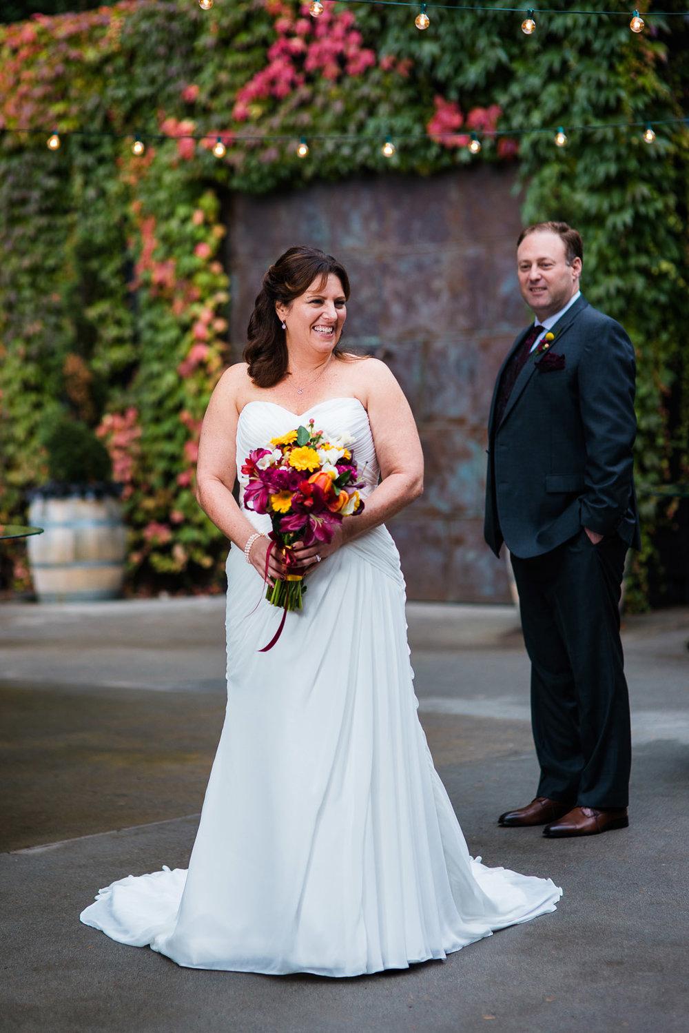 Fall JM Cellars Wedding | Washington Winery Wedding in October | www.rebeccaellison.com