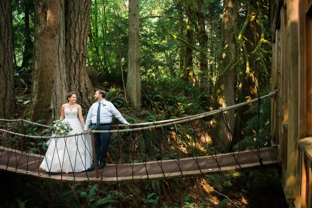 Unique PNW wedding venue - Treehouse Point