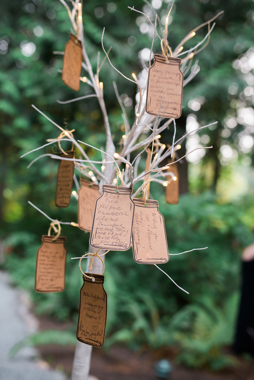wedding wishes tree idea Unique PNW wedding venue - Treehouse Point