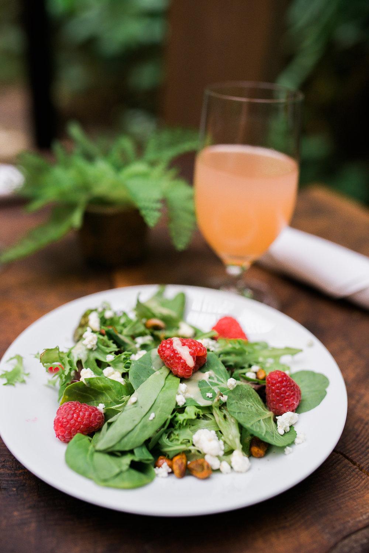 herban feast strawberry salad