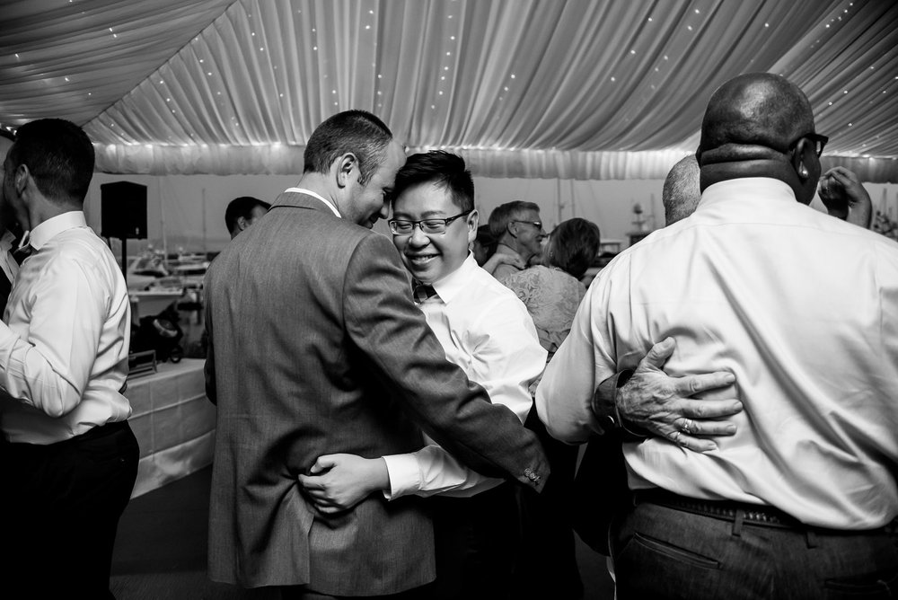 Same Sex Palisades Wedding  in Seattle. 