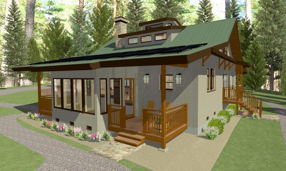 Sierra Foothills Straw Bale Residence