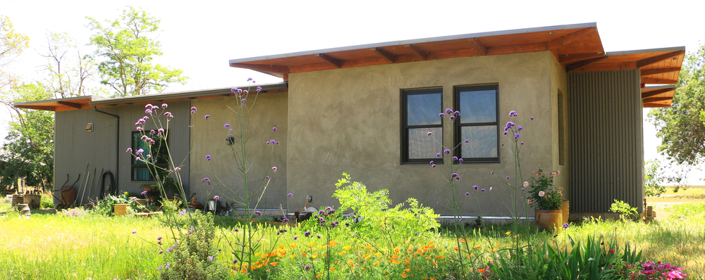 Modern Straw Bale Residence