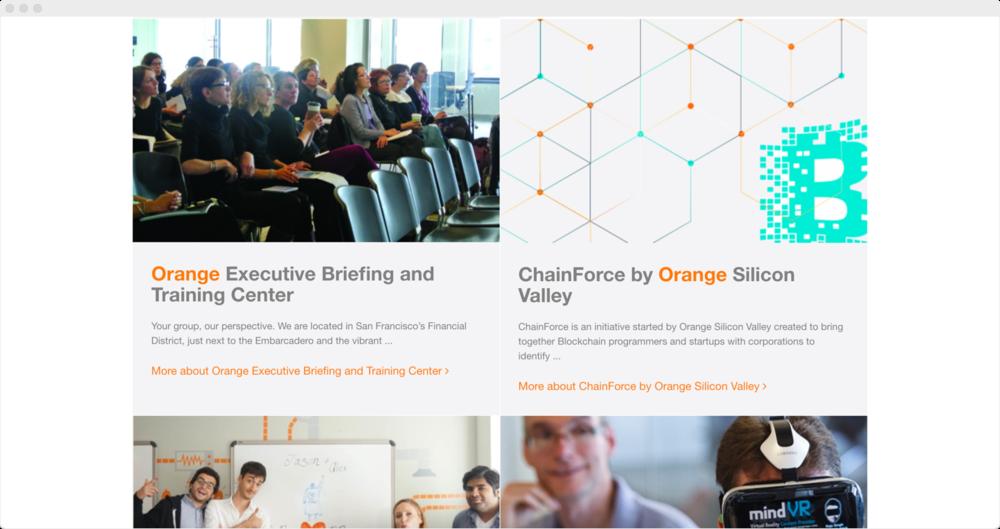 Old orangesv.com programs page