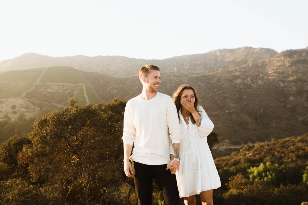 Sunkissed Proposal | Hollywood, CA