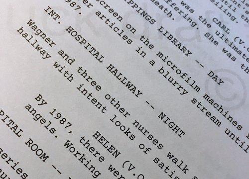 online screenwriting corporeal writing