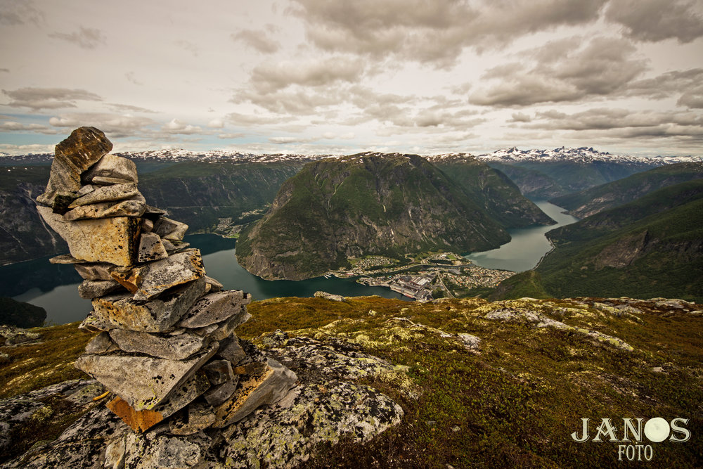 Frå Middagshaugen. FOTO: Jan Ove Skjerping