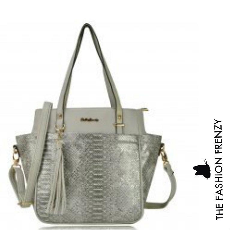 TFFFG13 - Grey Designer handbag [1586352].jpg