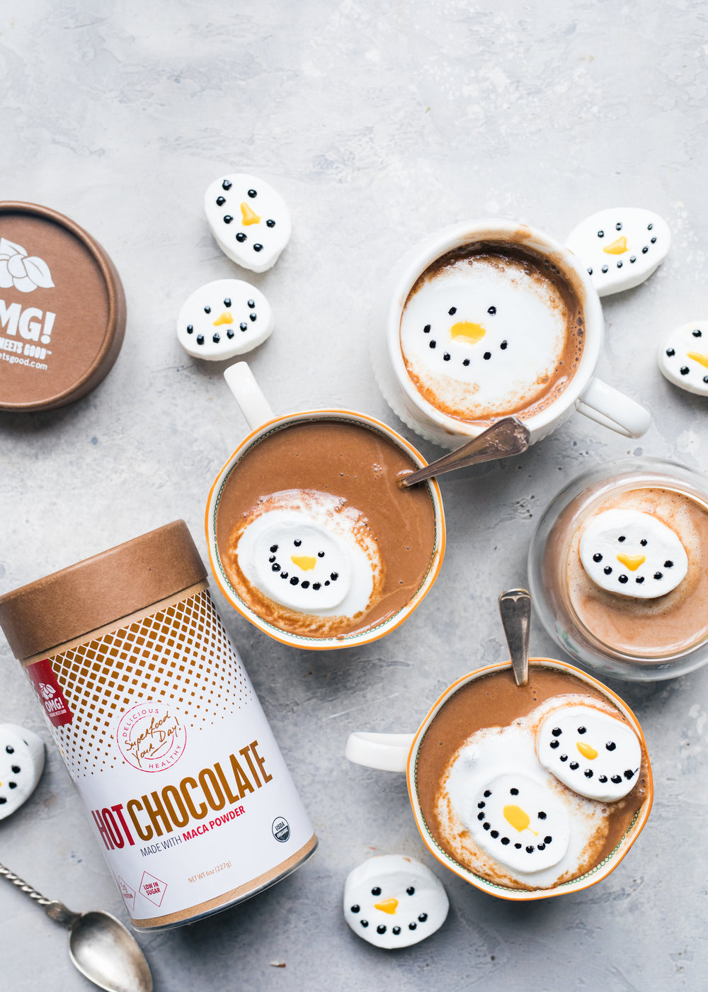 hot choc snowmen