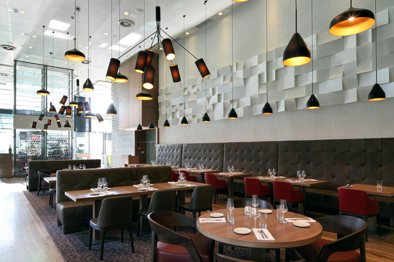 Restaurant design banquette