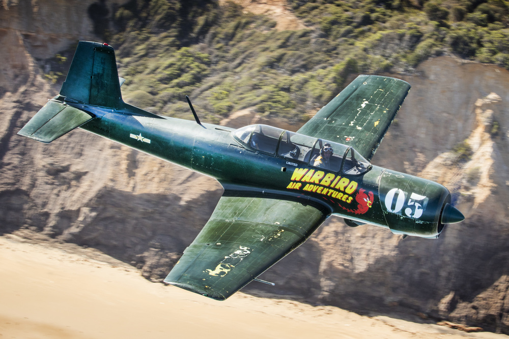 Shooting a Nanchang CJ-6