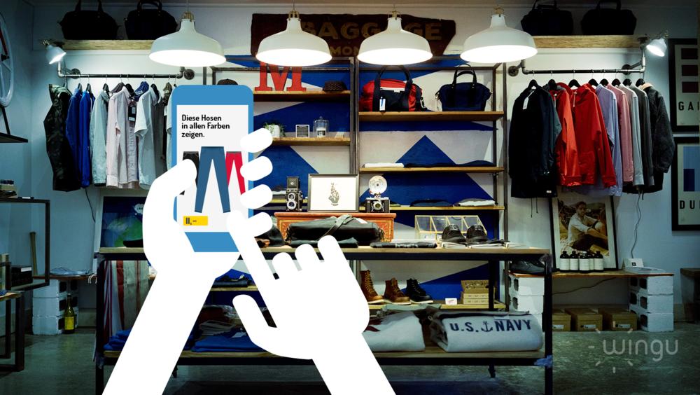 Einkaufen 2020: Einsatz Beacons in Shoppingcenter