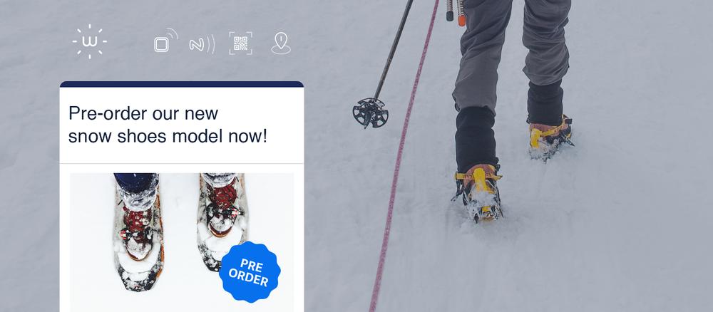 Ausverkauf noch vor dem Après Ski - Erweitere Deine Ladenfläche digital, indem Du zusätzliche Produktinformationen zu Inhaltsstoffen und Herkunft, Waschanleitungen oder Tipps für Ergänzungsprodukte gibst.Biete einen Nachsende-Service am leeren Regal an oder überrasche Deine Kunden mit besonderen Treue-Angeboten.