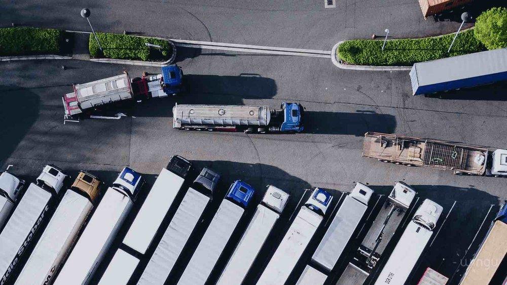 Tracking Einsatz von Geo fencing in der Logistik/ Crossdocking