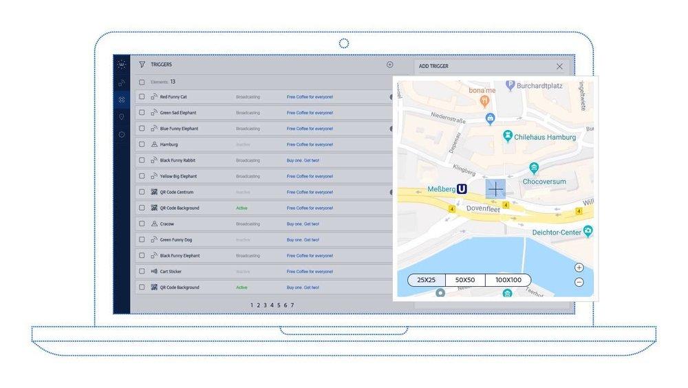 Geo fencing bei Android, iOS oder Windows: Sofort einsetzen. Ohne Softwareentwicklung.