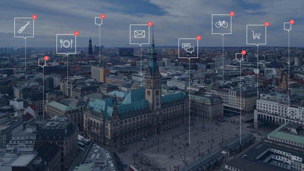 Einsatz Geofencing: Smart City